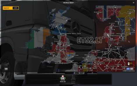 Map with Flags (3)