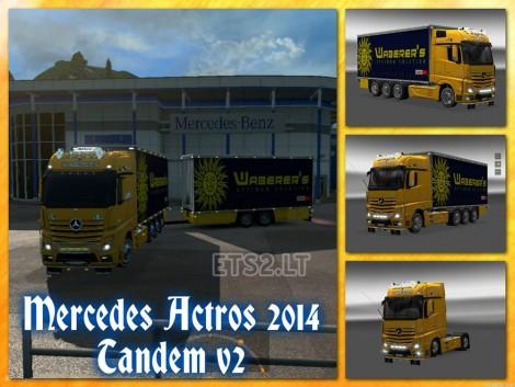 Mercedes Actros 2014 Tandem (1)