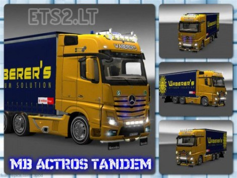 Mercedes Actros 2014 Tandem & Tuning-1