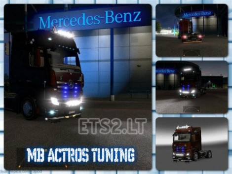 Mercedes Actros 2014 Tandem & Tuning-2