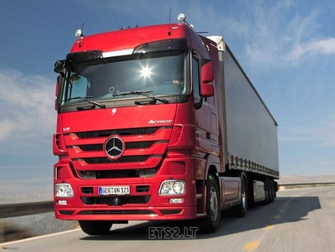 Mercedes Actros MPIV Sound for MPIII