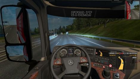 Mercedes Benz MP4 2014 New Transmission