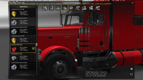 Modified Peterbilt 389-1