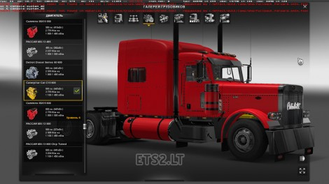 Modified Peterbilt 389-2