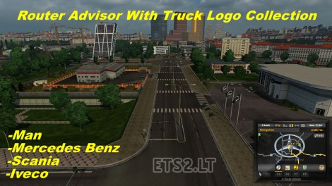 Router Advisor with Truck Logo Collection