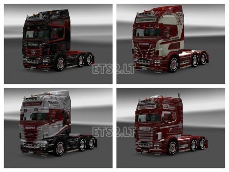 Scania R Skin Pack