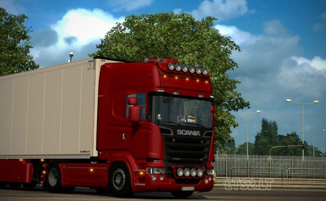 Scania Streamline Red Edition