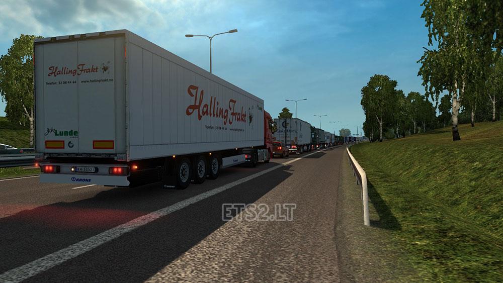 traffic jam mod | ETS 2 mods