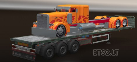 Trailer with American Truck (1)