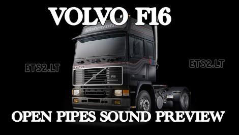 Volvo F16 Open Pipe Sound