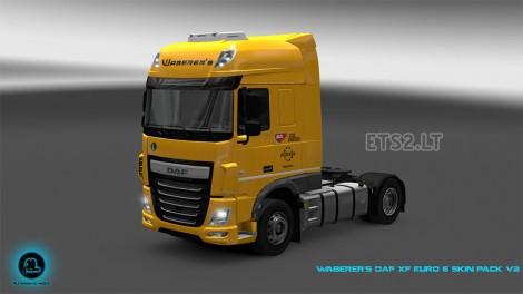 Waberer's DAF XF Euro 6 Skin Pack-1