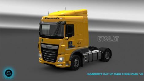 Waberer's DAF XF Euro 6 Skin Pack-2