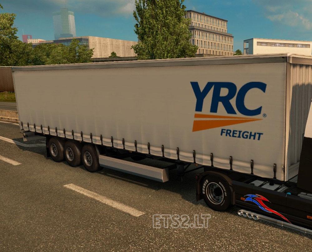 YRC Freight Trailer | ETS 2 mods
