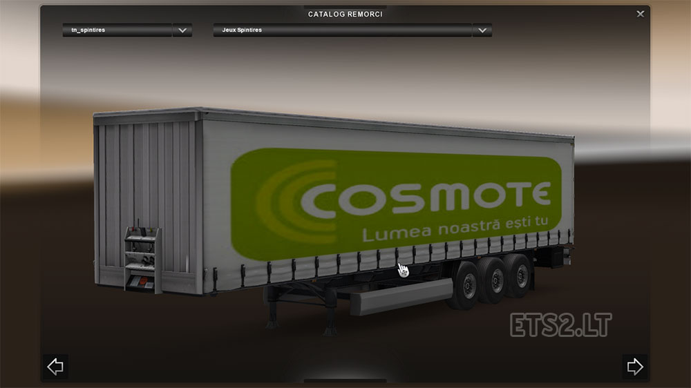 Acer, Altex, Cosmote, Asus trailers | ETS 2 mods