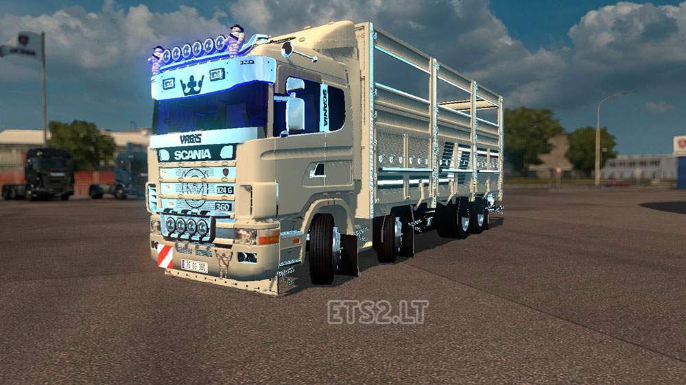 124G 360 Racon | ETS 2 mods