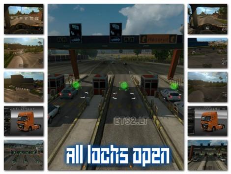 All Locks Open