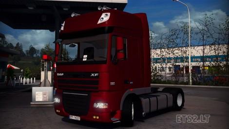 DAF XF105 SSC ATE