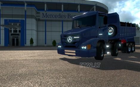Mercedes 1620 Atron
