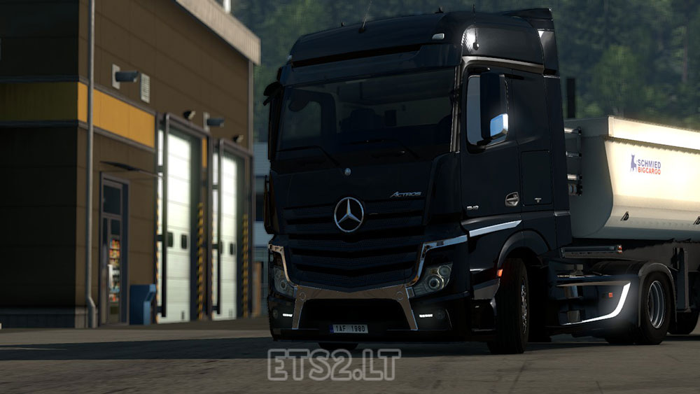mercedes actros mp4 tuning by hempam group ets 2 mods. Black Bedroom Furniture Sets. Home Design Ideas