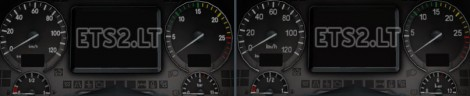 Mercedes HD Gauges and Interior