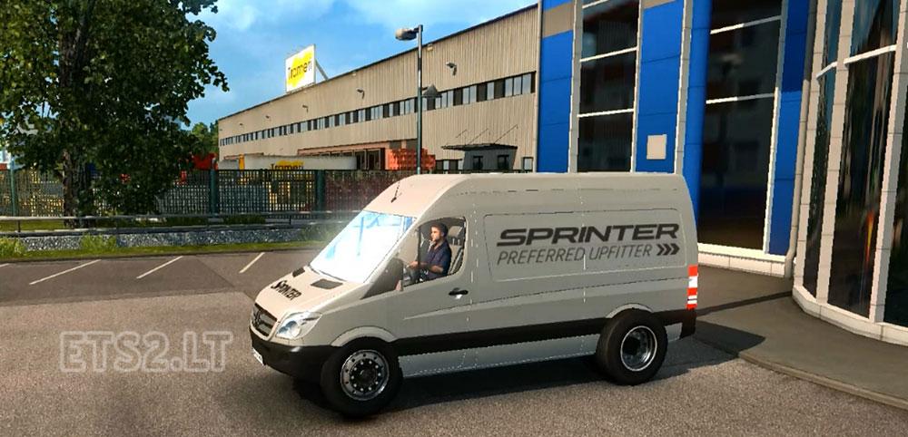 mercedes sprinter 313 by thalken ets 2 mods. Black Bedroom Furniture Sets. Home Design Ideas