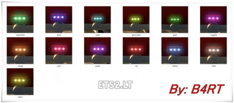 New Led Colors
