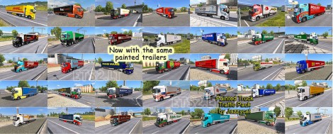 Painted Truck Traffic Pack (1)
