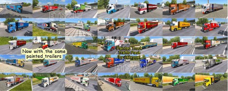 Painted Truck Traffic Pack (2)