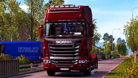 Scania R Interior (1)