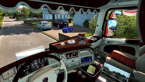 Scania R Interior (3)