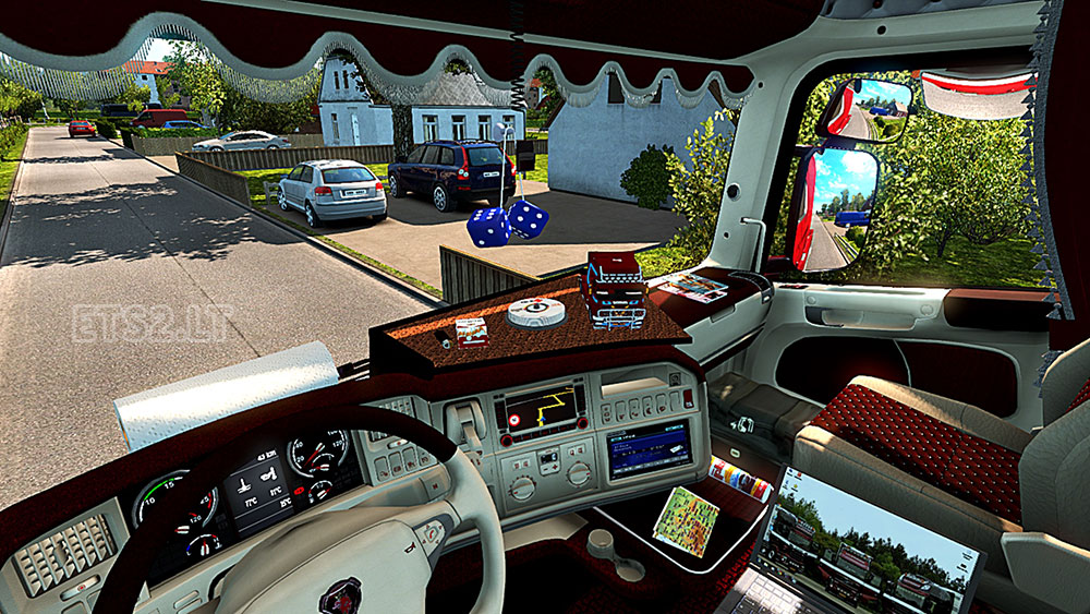 Scania r interior fix ets 2 mods for Interior design simulator free