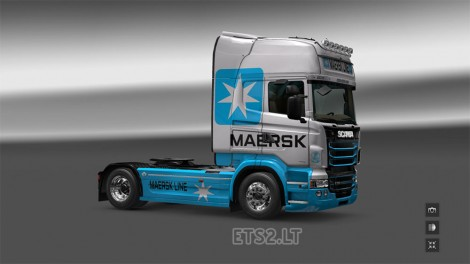 Scania RJL Topline Maersk Line (2)
