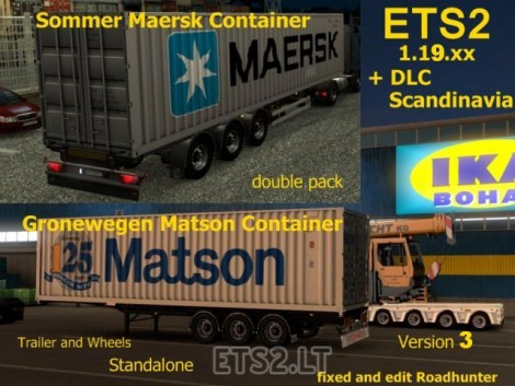 Sommer Maersk Groenewegen Matson Container