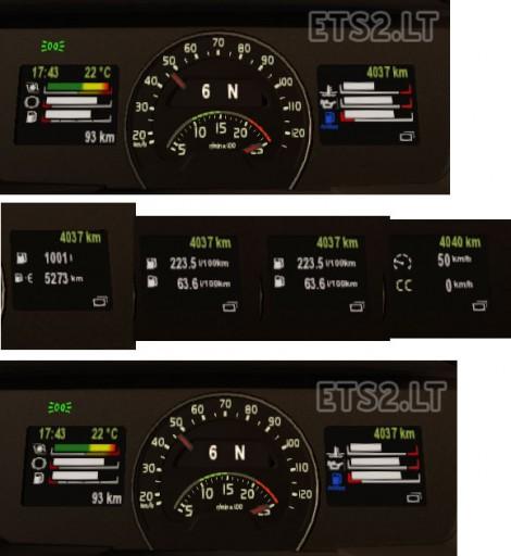Trial Volvo FH16 Dashboard