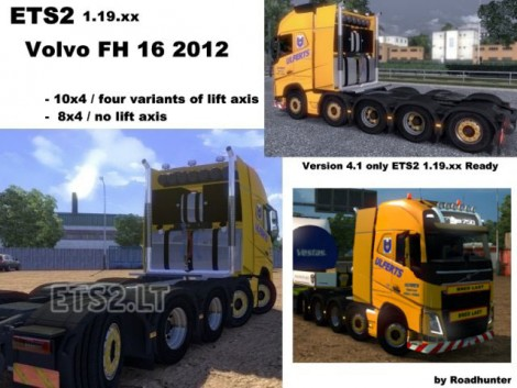 Volvo FH 2012 10x4 und 8x4 Ulferts