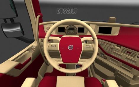 Volvo FH 2012 Interior (1)
