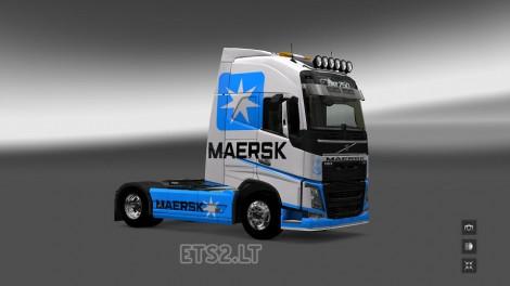 Volvo FH 2012 Maersk Line (1)