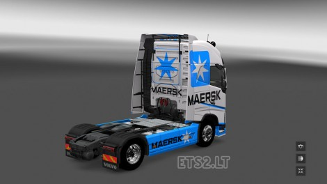 Volvo FH 2012 Maersk Line (2)