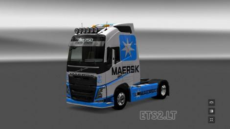 Volvo FH 2012 Maersk Line (3)