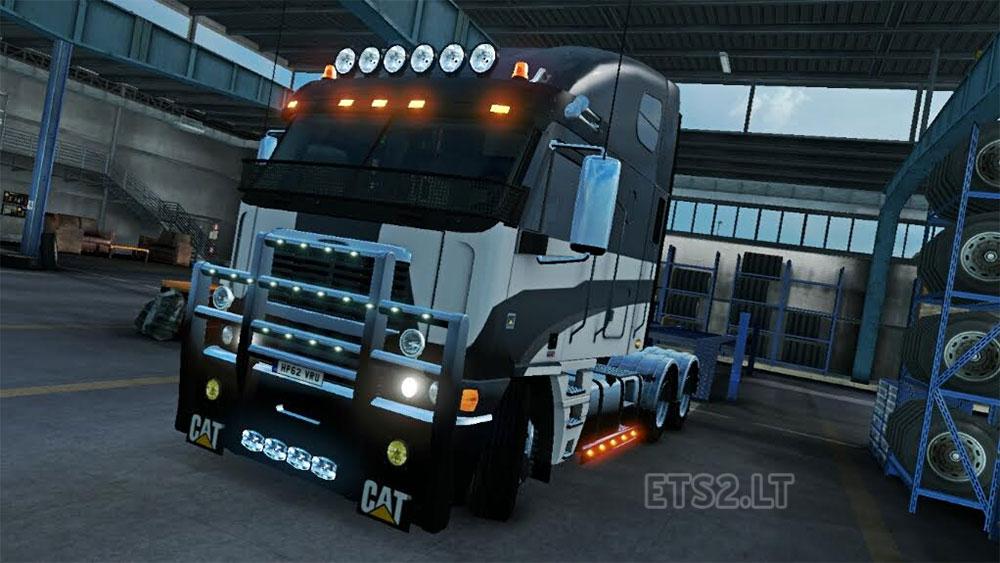 Argosy Galvatron Skin | ETS 2 mods Freightliner Argosy Galvatron