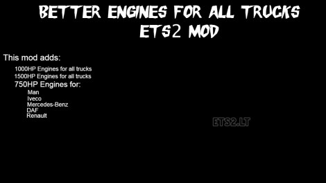 better-engines