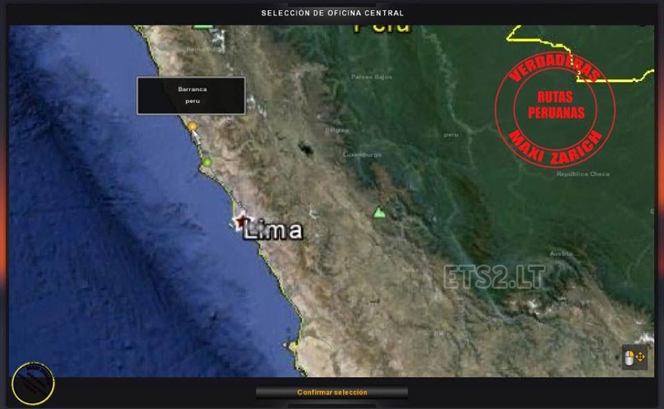 Peru Map Maxi Zarich ETS Mods - Argentina map ets2