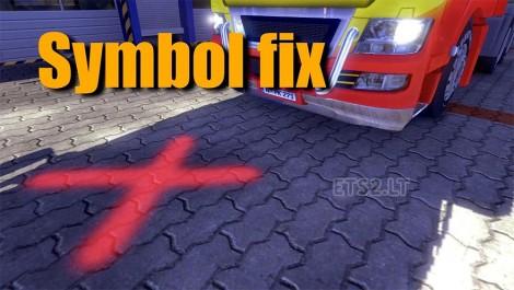symbol-fix