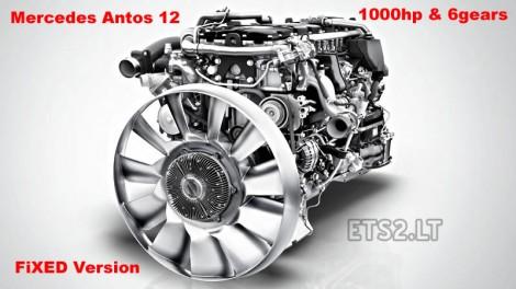 1000 hp + 6 gears