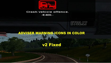 Adviser Warning Icons In Color