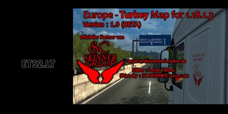 Europe - Turkey Map (1)