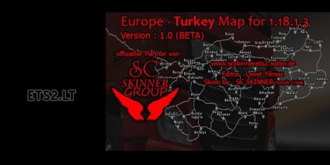 Europe - Turkey Map (2)