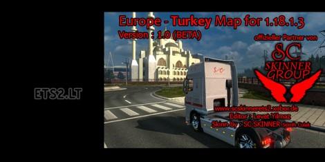 Europe - Turkey Map (3)