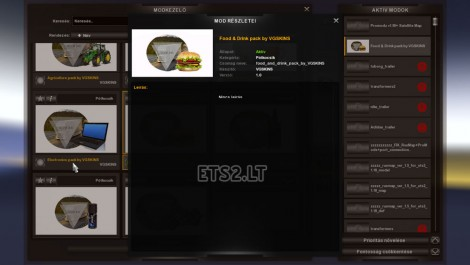 Food & Drink Trailers Pack (2)