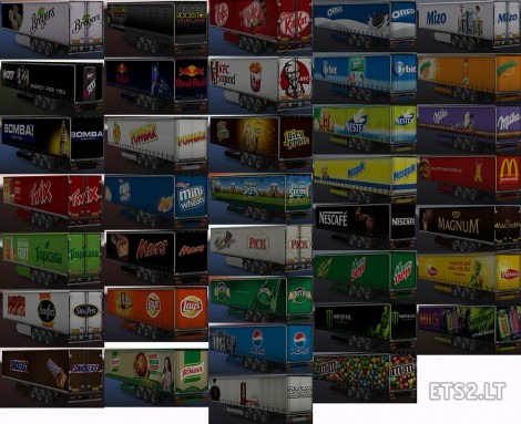 Food & Drink Trailers Pack (3)